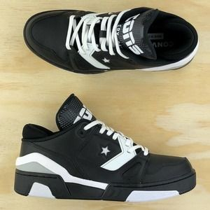 Converse ERX 260 Low Black White Leather Shoes Sz